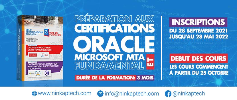 Ninkap-Tech formations développeurs de logiciels